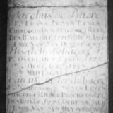 Grafsteen Jacobus De Baere